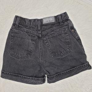 Gitano Vintage high waist jean black shorts